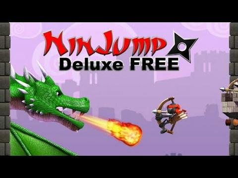 Nin Jump Delux Gameplay