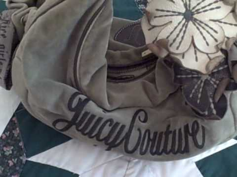 Misc. Video: Juicy Couture Purse Real...Or Fake?  From eBay!  Please Help!  You Decide!