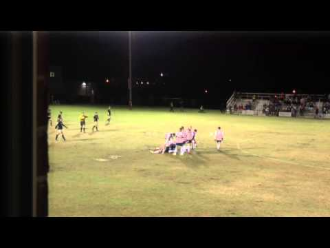 Carson-Newman Men's Soccer: Anderson Highlights 11-01-14