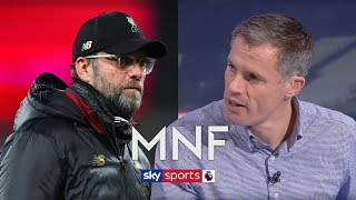 Does Jamie Carragher think Liverpool are favourites to win the Premier League?   MNF