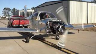 RV 10 Run up with Geared Drives FWF engine package
