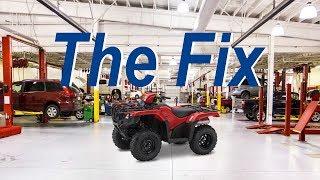 1. Honda TRX 500 Wont Start