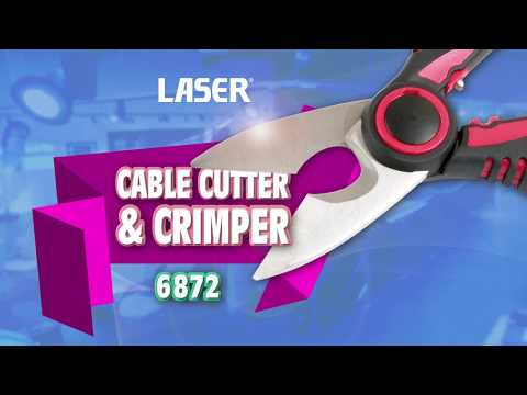 Cable Cutter and Crimper
