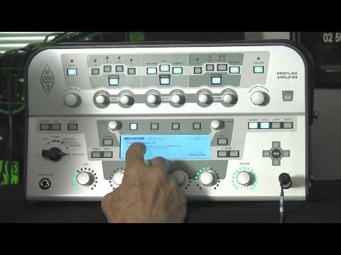 Tony Levin demonstrates the Kemper Profiling Amplifier
