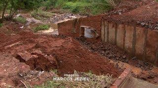 Chuva volta a castigar Bauru e causa estragos em vários pontos da cidade