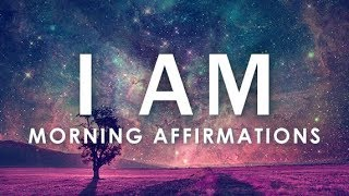 """Download Lagu POWERFUL POSITIVE Morning Affirmations for POSITIVE DAY, WAKE UP: 21 Day """"I AM""""  Affirmations Mp3"""