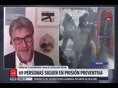 Entrevista al Defensor Nacional, Andrés Mahnke, sobre exceso de prisiones preventivas en actual sistema de justicia