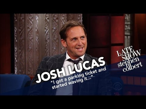 Josh Lucas Had A Machine Gun Pointed At Him