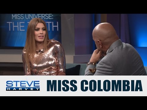 WOW: Steve Harvey Tearfully Apologizes To Miss Colombia On His Own Show
