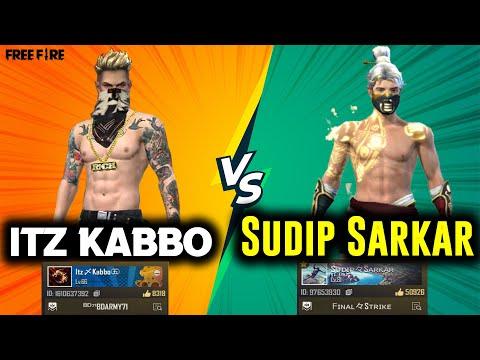 Sudip Sarkar VS Itz Kabbo |Clash Squad 1 VS 1 Fight | Legend Vs Bot | Insane HeadShots@Sudip sarkar