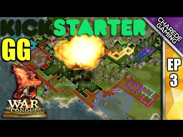 WAR OF CONQUEST | Kickstarter GG Ep #3