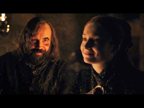 Sansa Stark + Sandor Clegane Reunion | You've changed Little Bird HD - Game of Thrones 8x4