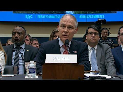 Democrats Battle Pruitt Over Ethics, EPA Policy (видео)