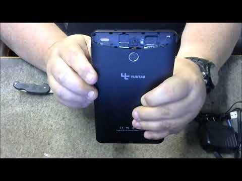Yuntab E706 7 inch Google Android  6.0 Tablet 3G Unlocked cell phone  Unboxing and Review