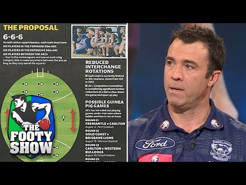 The 6-6-6 Proposal | AFL Footy Show 2018
