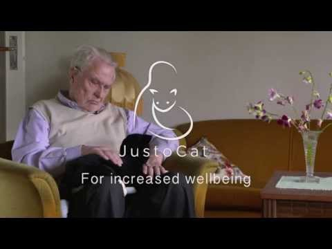 JustoCat, robot cat for dementia