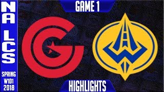 Video CG vs GGS Highlights | NA LCS Spring 2018 S8 W1D1 | Clutch Gaming vs Golden Guardians Highlights MP3, 3GP, MP4, WEBM, AVI, FLV Agustus 2018