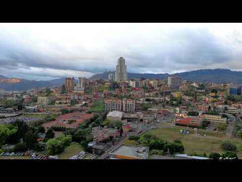 Honduras Capital City - View from a Skyscraper