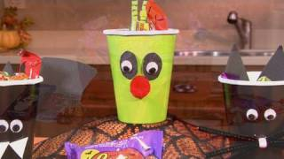 Trick or Treat Candy Cups