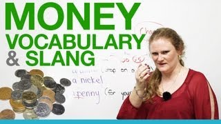 Money slang in English $$$