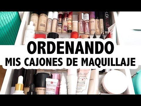 Modelos de uñas - ORDENANDO ALGUNOS CAJONES DE MAQUILLAJE Vlog