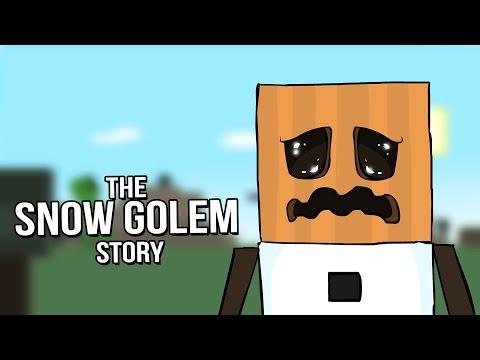 Minecraft Mob Stories - The Snow Golem