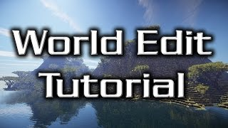 World Edit - Basic Commands