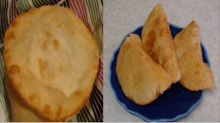 Homemade Chalupa Shell recipe video- Indian Fried Bread known as Bhature