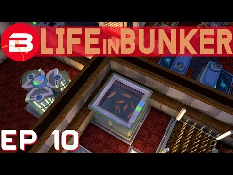 Life In Bunker Lets Play - Fish N'...Chips?- Ep 10 (Base Building Gameplay)