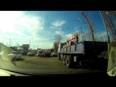 Появилось видео с места массовой аварии в Жигулевске