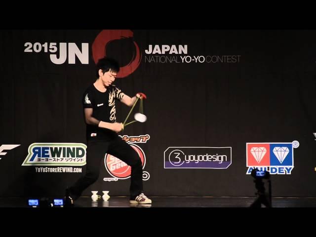 C3yoyodesign present JN 2015 4A Final Champion - Rei Iwakura