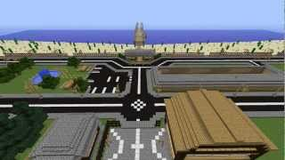 Minecraft Epic Time-lapse, Beach Town