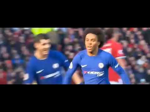 Manchester United vs Chelsea 2-1 All Goals Highlights-EPL- 2/ 25/2018 HD