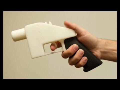 «Μπλόκο» στα πλαστικά όπλα από 3D εκτυπωτές