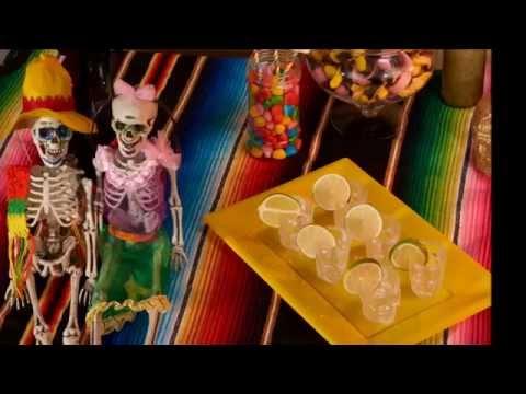 Cocktail Halloween Dia de los Muertos