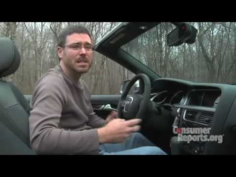 Audi A5 Convertible: Review from Consumer Reports