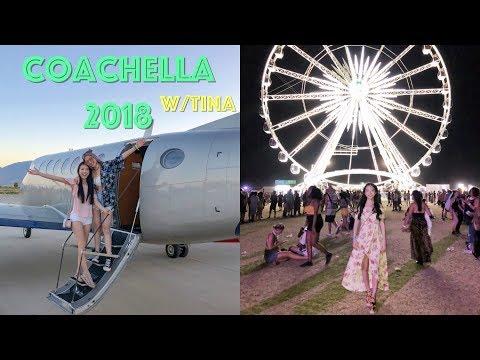 (中文English Subs) ❤️Elaine Hau - Coachella 音樂節 2018 Vlog w/ Tina Wong 🎡The Weeknd, Beyonce, Eminem🎶