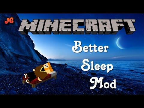 Minecraft Mod Showcase | Better Sleeping Mod