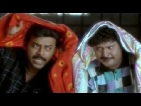 Raja Telugu Movie || Venkatesh And Sudhakar Cheats AVS For House Rent Hilarious Comedy Scene
