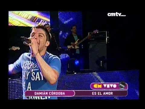 Damián Córdoba video Es el amor - CM Vivo 2014