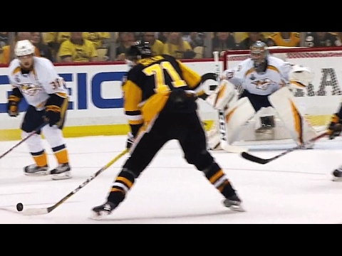 Video: Malkin takes Kessel drop pass, wires it top corner