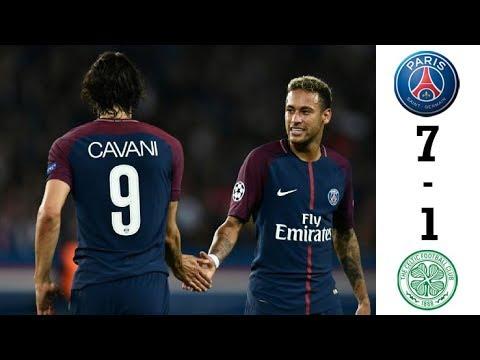 PSG vs Celtic 7-1 All Goals & Highlights HD | 22 November |  Extended Highlights