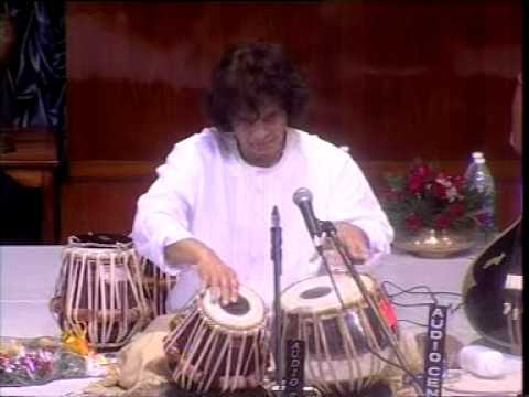 Tabla - On the occassion of Pandit Anindo Chatterjee's birthday, Ustad Zakir Hussain was invited to perform a tabla solo at the Ramakrishna Mission in Kolkotta. In t...