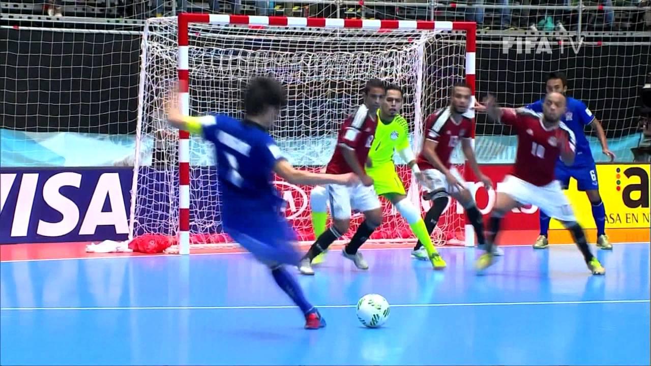 Match 27: Egypt v Thailand – FIFA Futsal World Cup 2016
