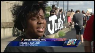 'Tensing Strong' rally canceled; opposition marches insteadSubscribe to WLWT on YouTube now for more: http://bit.ly/1ipUX3cGet more Cincinnati news: http://wlwt.comLike us: http://facebook.com/wlwt5Follow us: http://twitter.com/WLWTGoogle+: https://plus.google.com/+wlwt