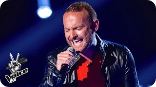 Kevin Simm - 'Chandelier' - The Voice UK 2016