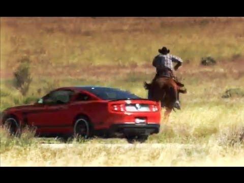 Muscle Cars vs Cowboys | Pony Express Race | Top Gear USA