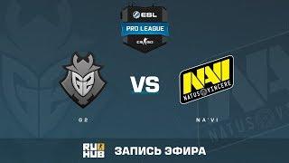 G2 vs Na'Vi - ESL Pro League S6 EU - de_overpass [yXo, Enkanis]