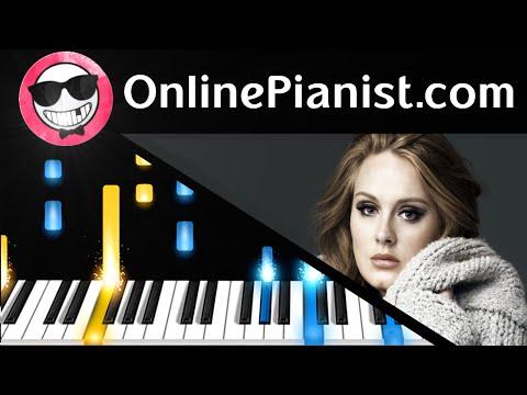 видео игры на фортепиано - Water Under the Bridge