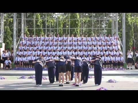 สีม่วงซู่ซ่า ปัจฉิมบทเซต โรงเรียนเตรียมอุดมศึกษา 2556 (set B)